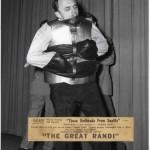 Early Randi straight-jacket escape