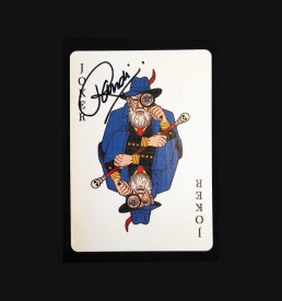 Signed deck 1
